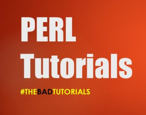 Perl Programming: The Bad Tutorials