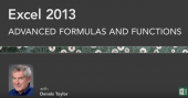 Excel 2013 Tutorials: Advanced Formulas and Functions