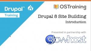 Drupal 8 Site Building Tutorials