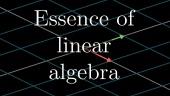 The Essence of Linear Algebra