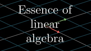 The Essence of Linear Algebra