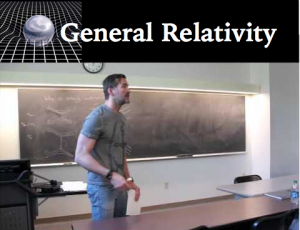 General Relativity Video Lectures, Notes, and Exercises