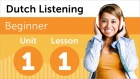 Dutch Listening Comprehension for Beginners