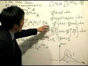 Quantum Mechanics: Physical Problems in One-Dimension