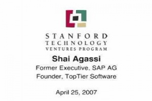Three Circles of Happiness, Lecture by Shai Agassi / SAP AG (2007)