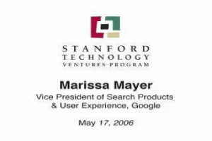 Ideas Come From Everywhere, Lecture by Marissa Mayer / Google (2006)