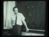 Richard Feynman lecture: Strangeness Minus Three (excerpt)