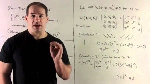 Ordinary Differential Equations: Solutions and Examples