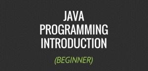 Beginner Java Programming Tutorials by TheNewBoston