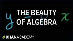 Algebra I Worked Examples with Sal Khan