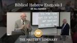Biblical Hebrew Exegesis I