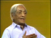 J. Krishnamurti Sixth Conversation with Dr Allen W. Anderson (1974)