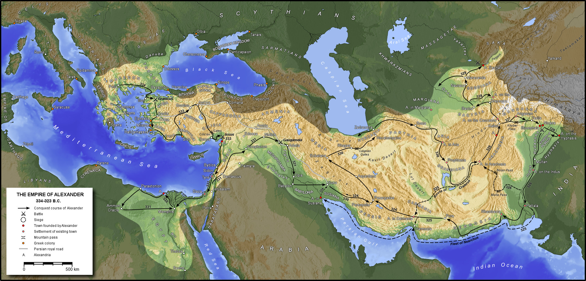 an analysis of the persian empire which stretched from the indus river all the way to egypt World history/ancient civilizations and euphrates river) egypt to humanity from prehistoric times by their persian empire all the way through to the.