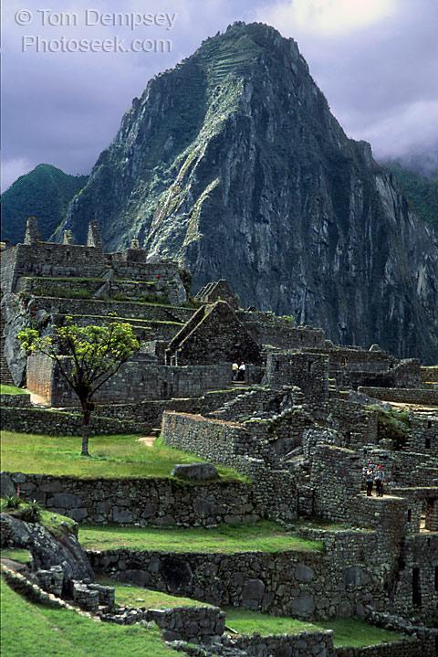 Huayna-Picchu. Photograph Copyright 2000, 2003 by Tom Dempsey, www.photoseek.com/peru/MachuPicchu.html