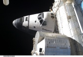STS-127 Endeavour docked to the space station