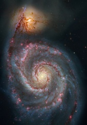 Astronomy Picture of the Day: M51 Hubble Remix