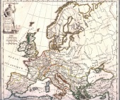 Europe after the Barbarian Invasions at the end of the Fifth Century A.D.