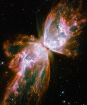 Hubble Catches Space