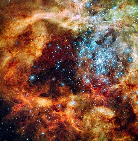 Top Ten Space Pictures of 2009: Hubble Makes a Holiday