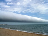 Astronomy Picture of the Day: A Roll Cloud Over Uruguay