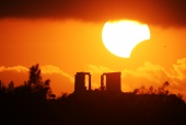 Astronomy Picture of the Day: Eclipse over the Temple of Poseidon