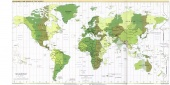 Standard Time Zones of the World 2001