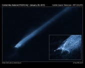 Astronomy Picture of the Day: P/2010 A2: Unusual Asteroid Tail Implies Powerful Collision