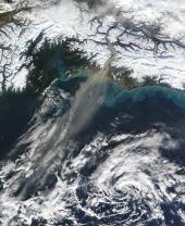 Glacial Dust off Alaska (2009)