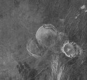 Venus: Volcanos in Guinevere Planitia (1996)