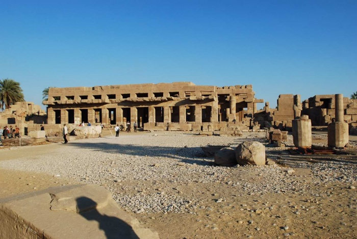 The largest religious structure ever built, the Temple of Karnak was under construction for over 2,000 years.  Source: http://www.interamericaninstitute.org/ancient_egypt.htm