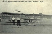 The Big Wright Aeroplane ready for flight - Atlantic City, NJ