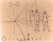 Pioneer plaque ((25 Sep 1972))