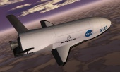 X-37 spacecraft, artist's rendition