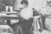 Last photograph of Anastasia Romanov (13 July 1918)