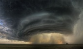 Astronomy Picture of the Day: A Supercell Thunderstorm Cloud Over Montana