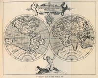 Wytfliet's Map of the World (1598)