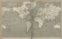 The World on Mercators Projection (1820)