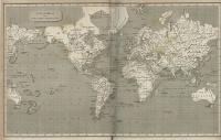 The World on Mercators Projection (1820)
