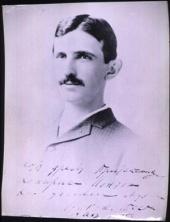 Tesla Files: Nikola Tesla at age 29
