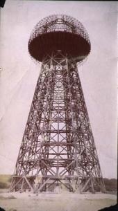 Tesla Files: Tesla's dome frame, completed in 1904