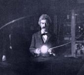 Tesla Files: Mark Twain in Tesla's laboratory