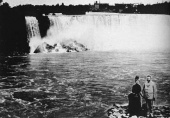 Tesla Files: George and Margueritte Westinghouse at Niagara Falls (mid-1890s