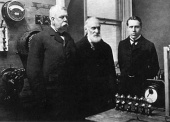 Tesla Files: Lord Kelvin (center) visits the Westinghouse Company (1897)