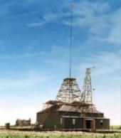 Tesla's Colorado Springs Experimental Station - background