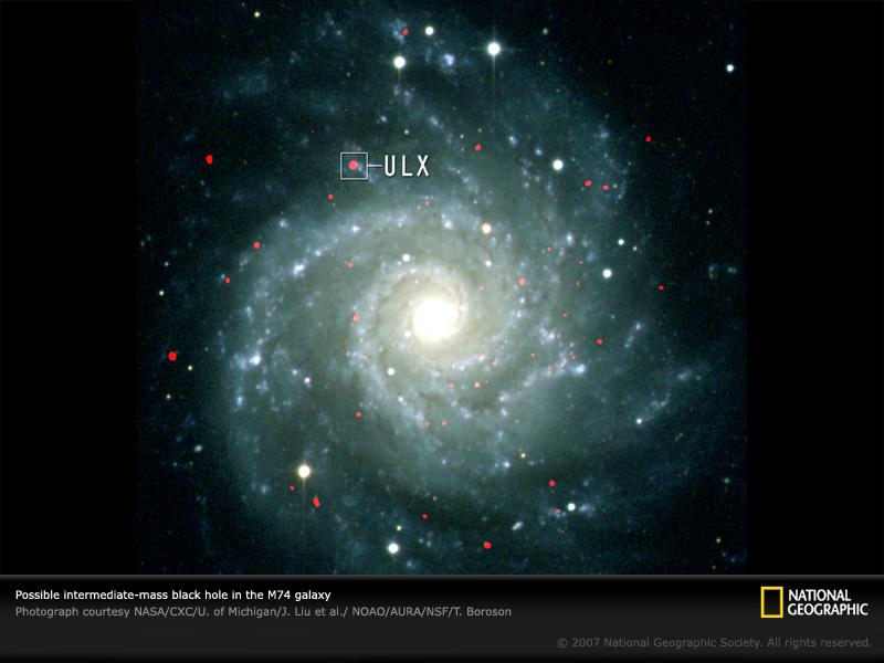 Intermediate-Mass Black Hole | CosmoLearning Astronomy