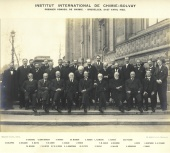 First Solvay Conference on Chemistry, 1922