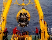 ANTARES, using water 8,200 feet below the surface to detect the particles muons