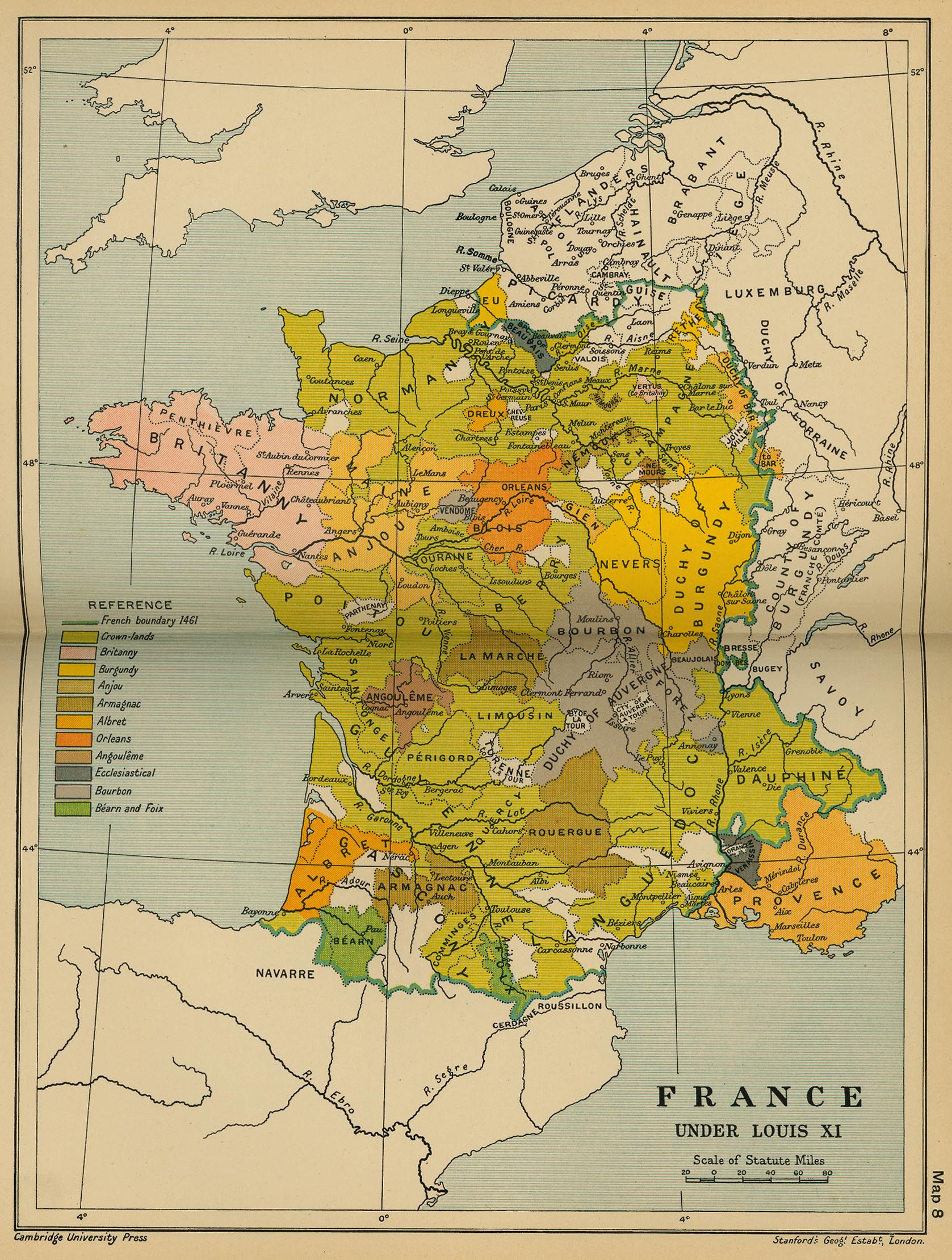 France Under Louis XI (1461-1483) | CosmoLearning History
