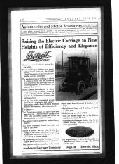 Old EV Advertisements: Detroit Electric Carriage