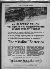 Old EV Advertisements: Electric Truck (1913)